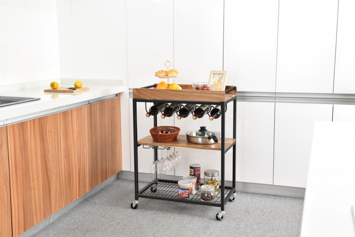 さまざまな種類と種類キッチン収納トロリー:7つのスタイリッシュな収納ソリューション